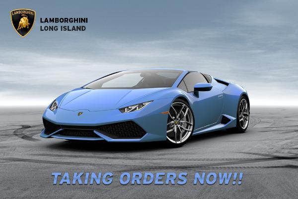 2016 Lamborghini Huracan Spyder LP 610-4