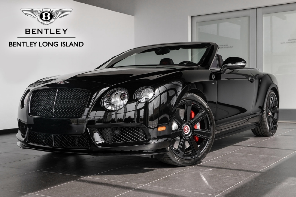 2015 Bentley Continental GT V8 S Convertible Concours Series Black