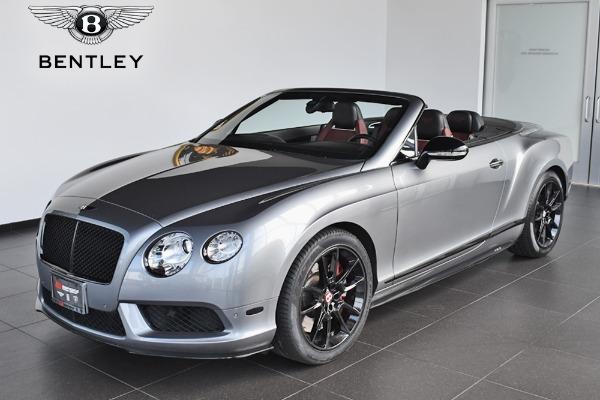 2015 Bentley Continental GT V8 S Convertible GT V8 S