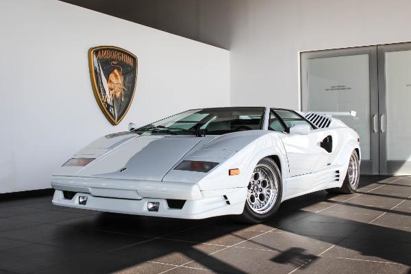 1990 Lamborghini Countach 25th Anniversary Lamborghini