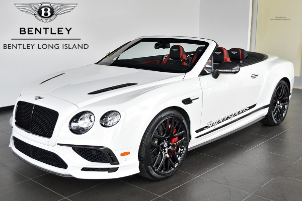 2018 Bentley Continental Supersports Convertible
