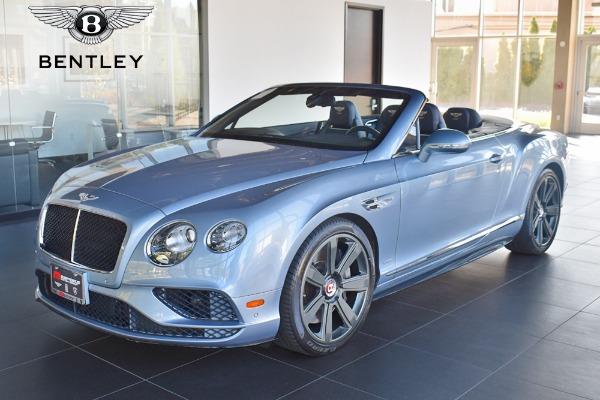 2017 Bentley Continental GT V8 S Convertible V8 S Mulliner