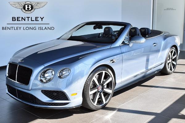 2017 Bentley Continental Gt V8 S Convertible Mulliner