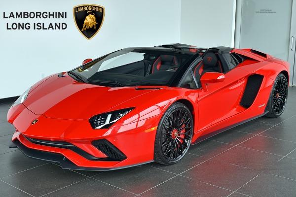 2018 Lamborghini Aventador S Roadster Lamborghini Long Island