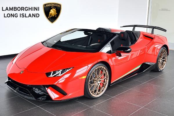 2019 Lamborghini Huracan Performante Spyder Lamborghini Long