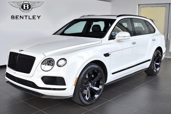 2019 Bentley Bentayga V8 Black Specification