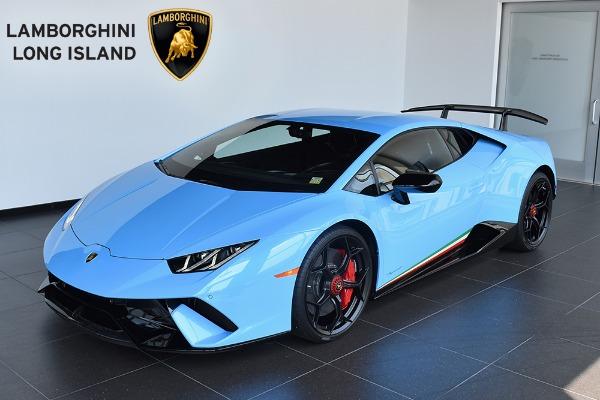 2018 Lamborghini Huracan Performante Lamborghini Long Island New