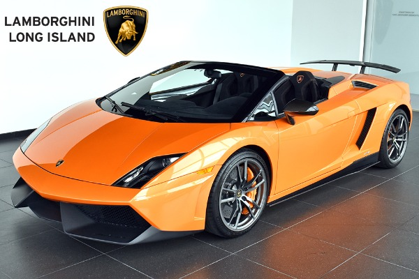 2011 Lamborghini Gallardo LP 570-4 Spyder Performante