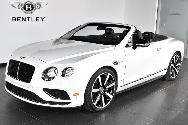 2016 Bentley Continental GT V8 S Convertible GT V8 S