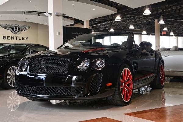 2013 Bentley Continental Supersports Convertible Isr Lamborghini