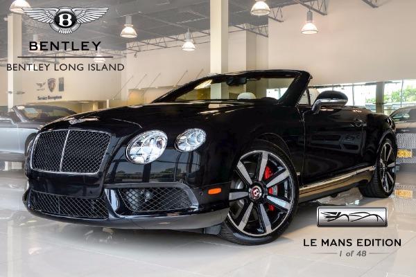 2013 Bentley Continental GT V8 Convertible Le Mans Edition